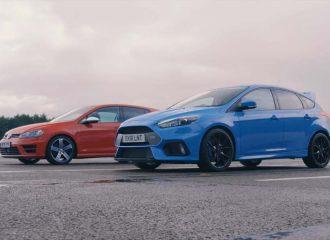 Κόντρα 0-1.000 μ. μεταξύ Focus RS vs Golf R