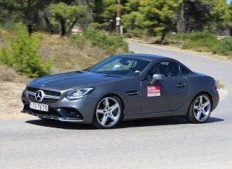 Δοκιμή Mercedes SLC 180 9G-Tronic