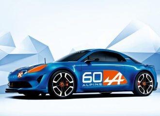 Νέο Renault Alpine Celebration concept για τα 60 χρόνια