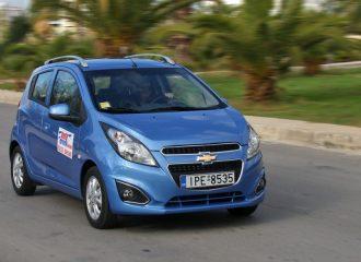 Δοκιμή Chevrolet Spark 1.0 ανανεωμένο