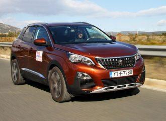 Δοκιμή Peugeot 3008 diesel 1.6 BlueHDI 120 S&S