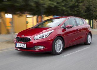Kia Cee'd 1.4 100 hp με τιμή από 13.490 ευρώ