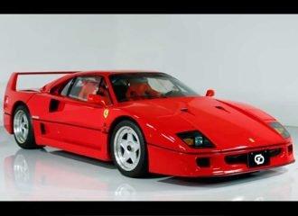 Οι Ιάπωνες τιμούν την Ferrari F40 με δύο εντυπωσιακά videos