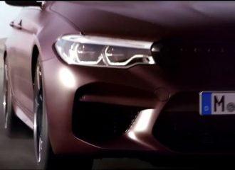 Νέα BMW M5: Πρεμιέρα στις 21 Αυγούστου (+video)