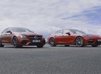 Mercedes-AMG E63 S VS Porsche Panamera Turbo (video)