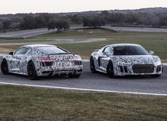 Το νέο Audi R8 δοκιμάζεται στα όρια και συναρπάζει (video)