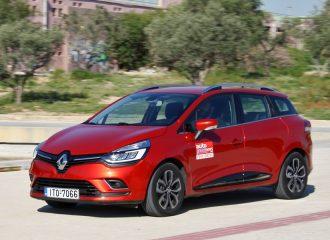 Δοκιμή Renault Clio Sport Tourer diesel 1.5 dCi 90 PS
