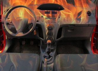 Αποφυγή θερμοπληξίας στο αυτοκίνητο