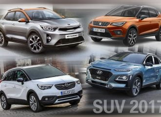 Όλα τα νέα μικρά SUV του 2017