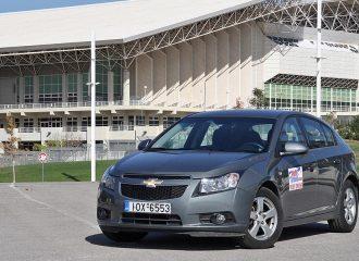 Δοκιμή Chevrolet Cruze 1.6 HB5