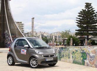Δοκιμή smart fortwo diesel 0.8 cdi