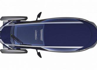Toyota i-Road concept 1+1 θέσεων