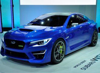 Subaru WRX Concept (+video)