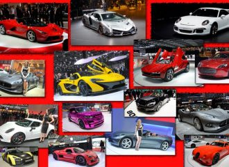 Τα supercars στο Σαλόνι Αυτοκινήτου Γενεύης