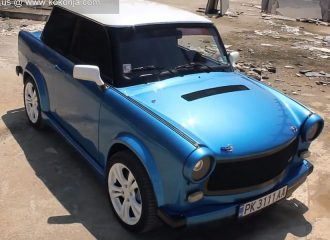 Trabant RS 220 hp με turbo κινητήρα από Fiat Coupe
