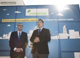 Πρατήριο φυσικού αερίου κίνησης στη Θεσσαλονίκη