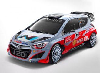 Αποκάλυψη του Hyundai i20 WRC 2014