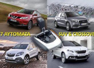 Αυτόματα SUV – Crossover ντίζελ και βενζίνης