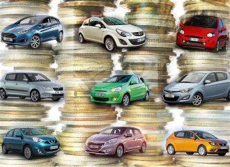 Μικρά οικονομικά αυτοκίνητα έως 10.000 ευρώ