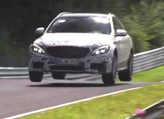 Πετάει η νέα Mercedes C63 AMG στο Nürburgring (video)