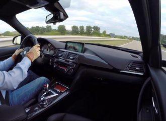 0-270 χλμ./ώρα με τη νέα BMW M3 (video)