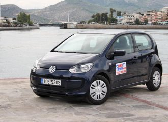 Volkswagen eco up! με φυσικό αέριο/βενζίνη