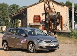 Δοκιμή VW Golf 1.4 TGI BlueMotion DSG με φυσικό αέριο