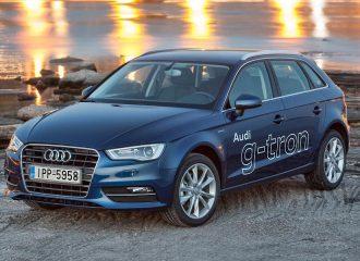 Δοκιμή Audi A3 g-tron 1.4 TFSI 110 PS με φυσικό αέριο