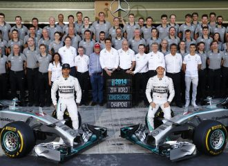 Παγκόσμιος πρωταθλητής F1 το 2014 ο Lewis Hamilton