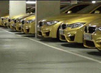 Ονειρεμένο πάρκινγκ με 23 BMW M4 και 5 BMW M6! (video)