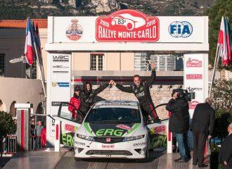 Το ελληνικό Civic Type-R τερμάτισε στο Ράλι Μόντε Κάρλο