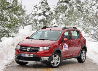 Δοκιμή Dacia Sandero Stepway ντίζελ 1.5 dCi 90 PS
