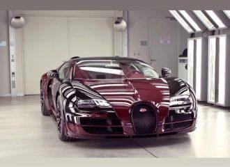 Η παραγωγή της τελευταίας Bugatti Veyron La Finale (video)