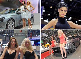 Τα αληθινά μοντέλα της Έκθεσης Αυτοκινήτου της Γενεύης
