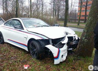Μηχανικός πήρε εκθεσιακή BMW M4 και την κάρφωσε σε δέντρο