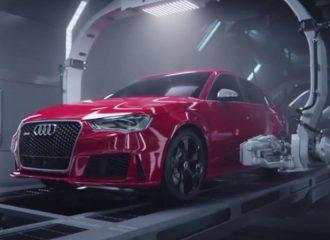 Η γέννηση του Audi RS 3 Sportback μέσα από το νέο R8! (video)