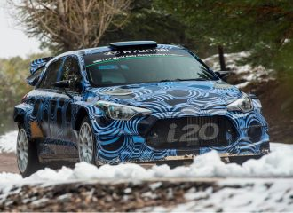 Το νέο Hyundai i20 WRC ετοιμάζεται για το Μόντε Κάρλο