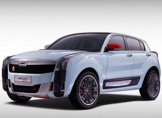 Νέο μικρό SUV Qoros 2 SUV PHEV Concept με υβριδική τετρακίνηση