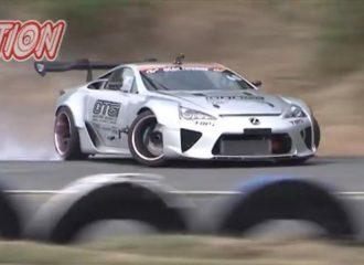 Lexus LFA 1.000 ίππων στους πίσω τροχούς δεν ισιώνει! (video)