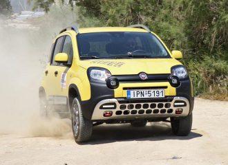 Δοκιμή Fiat Panda 4×4 Cross ντίζελ 1.3 MultiJet 80 PS
