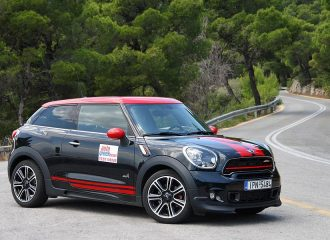Test MINI Paceman John Cooper Works 218PS ALL4