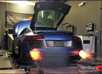 Audi R8 V10 Twin-Turbo με 1.300+ whp είναι δράκος!