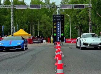 Κόντρα Lamborghini Huracan vs Porsche 911 Turbo S (video)