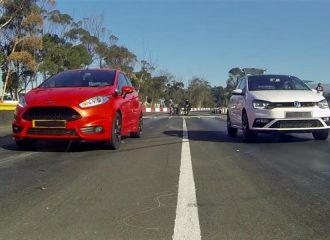 Κόντρα στο 400άρι Ford Fiesta ST vs VW Polo GTI (video)