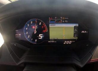 0-200 χλμ./ώρα με Lamborghini Huracan στο άψε σβήσε! (video)