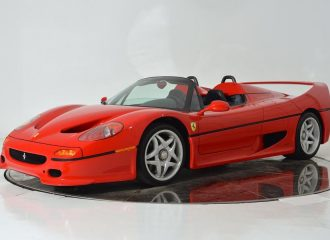 Ferrari F50 του 1995 με 8.500 χλμ. πωλείται 2.599.900 δολάρια!