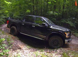 Εκτός δρόμου δοκιμές του νέου Ford F-150 Raptor (+video)