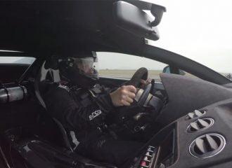 Νέο ρεκόρ ταχύτητας 378 χλμ./ώρα στα 0-800 μ. (video)