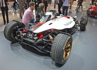 Honda Project 2&4 με 215 ίππους και βάρος μόλις 405 κιλών