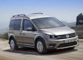 Νέο Volkswagen Caddy Alltrack με οκτώ κινητήρες και 4×4